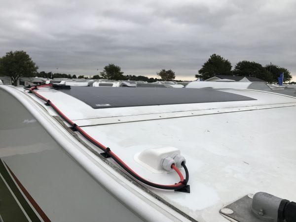 MIPV Flexible Solar Panel Treble Lane Width (990mm) Flexible Solar Panel Kits