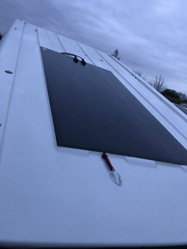 MIPV Flexible Solar Panel Double Lane Width (674mm) Flexible Solar Panel Kits