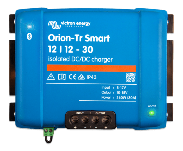 Orion-Tr Smart DC-DC Charger Non Isolated Battery to Battery Chargers